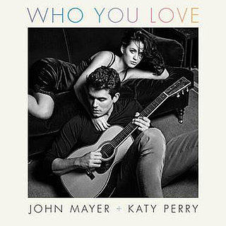 "Katy Perry and John Mayer's ""Who You Love"" Cover Art"