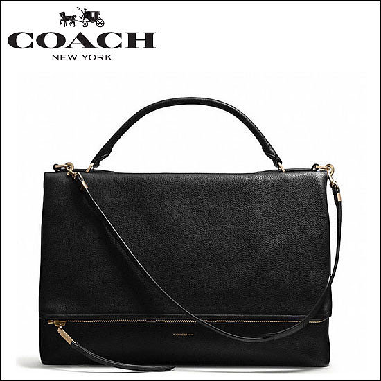 URBANE BAG IN PEBBLED LEATHER, $698