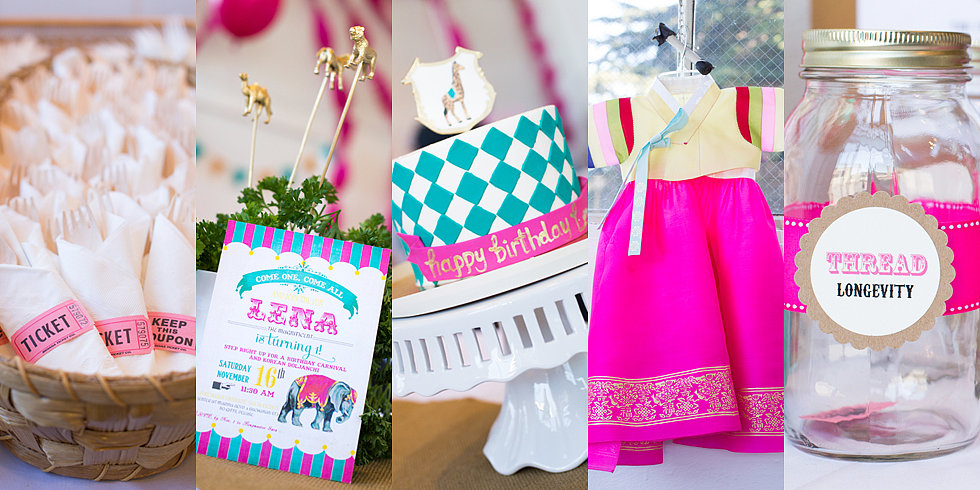 What a Dol! A Vintage Circus Meets Traditional Korean First Birthday Party