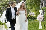 Nolan (Gabriel Mann) escorts his partner in crime down the aisle.