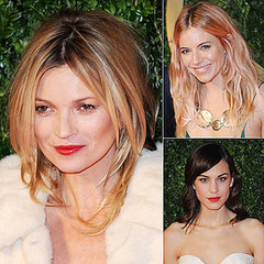 Kate Moss, Alexa Chung at the 2013 British Fashion Awards