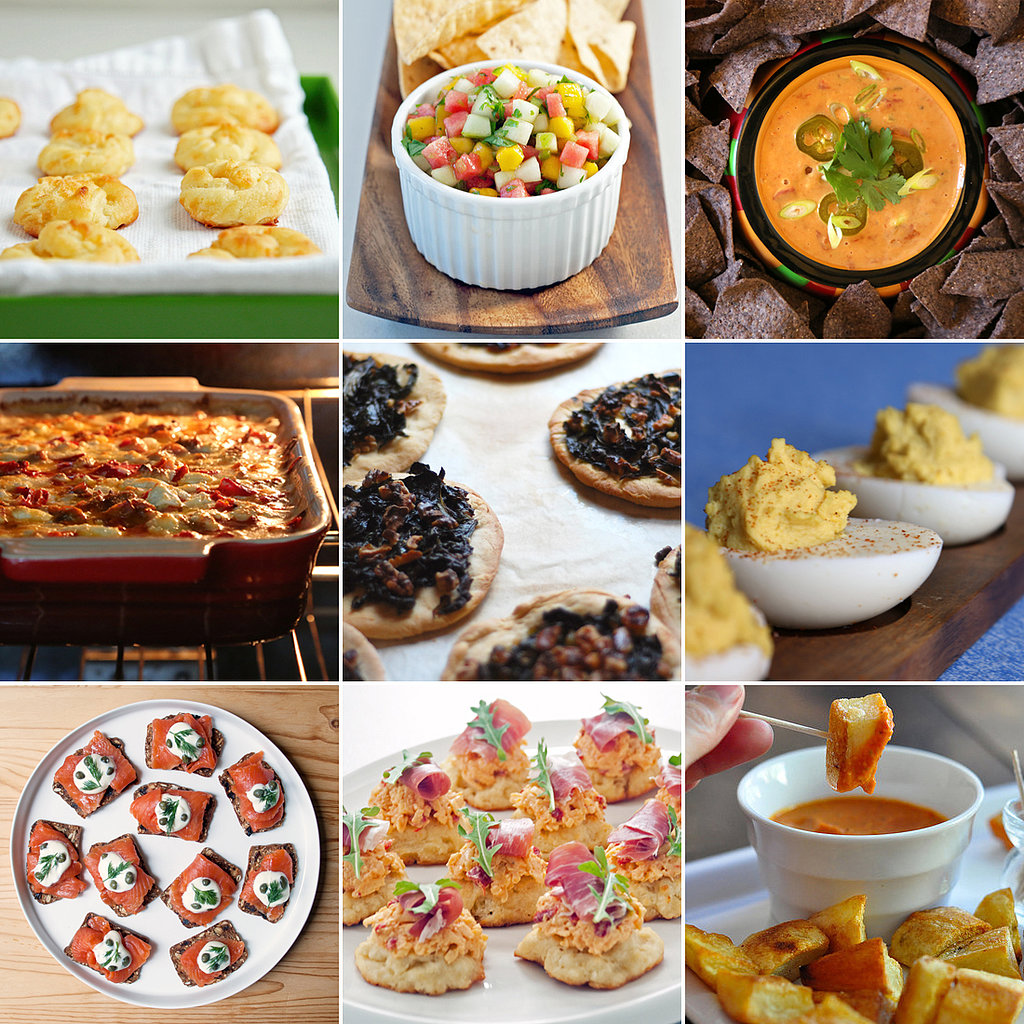 Easy appetizers for parties for French canape ideas