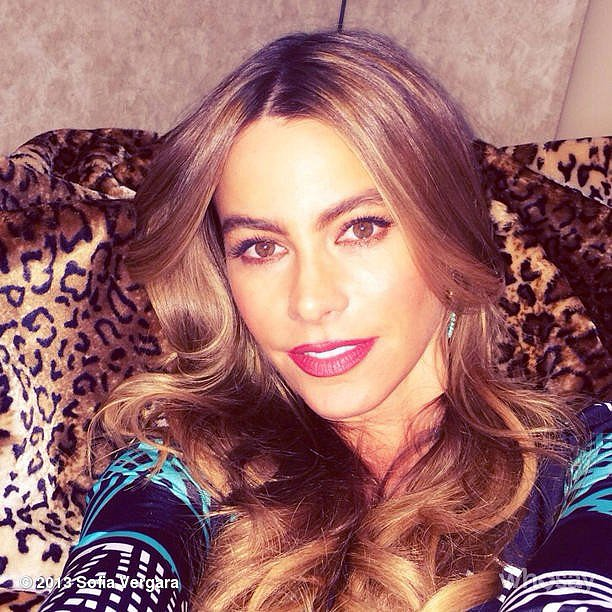 Sofia Vergara was #bombshelling for her new CoverGirl campaign. Source: sofiavergara on WhoSay
