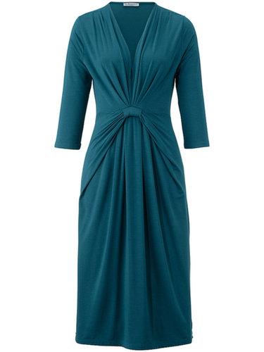 Uta Raasch - Jersey dress with 3/4-length sleeves - teal