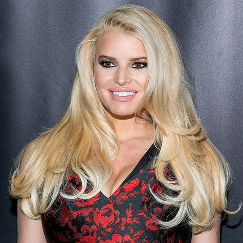 Jessica Simpson at Footwear News Awards 2013