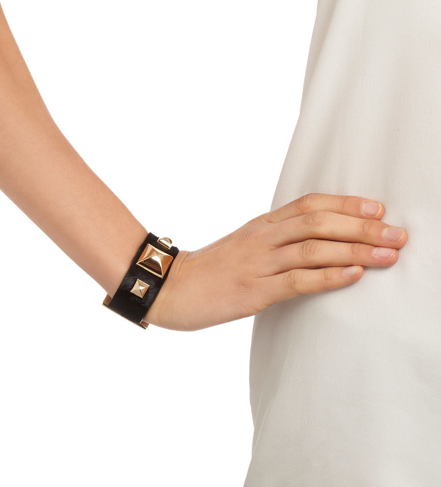 Fallon Pyramid Strap Bracelet ($109, originally $175)