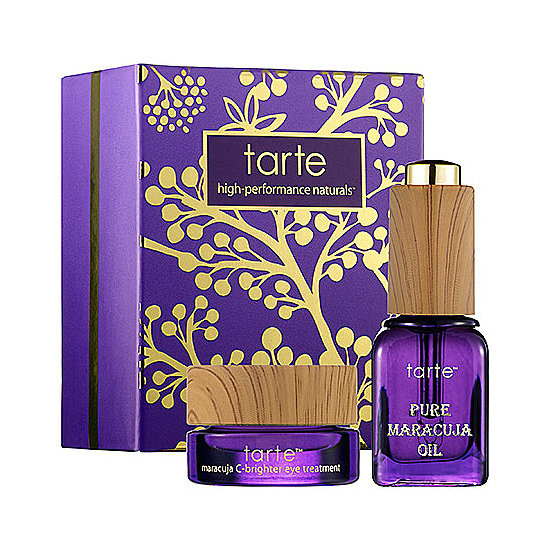 Fans of Tarte's Maracuja Oil will flip over Tarte THe Bright Time Deluxe Maracuja Oil and Eye Treatment ($10). The oil and eye cream will work to instantly brighten your skin, especially your under eyes.