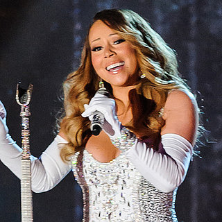 Mariah Carey Singing at Rockefeller Tree Lighting 2013