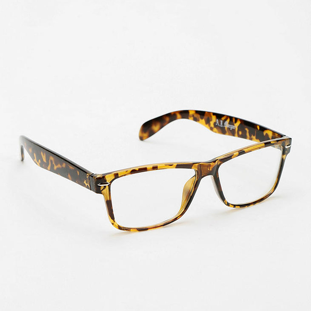 The classic silhouette of this pair of Marion glasses ($14) will satisfy any bookworm.