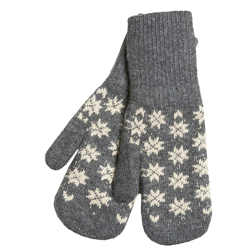 Is there anything more festive than a pair of mittens ($10, originally $13) that actually have snowflakes on them?