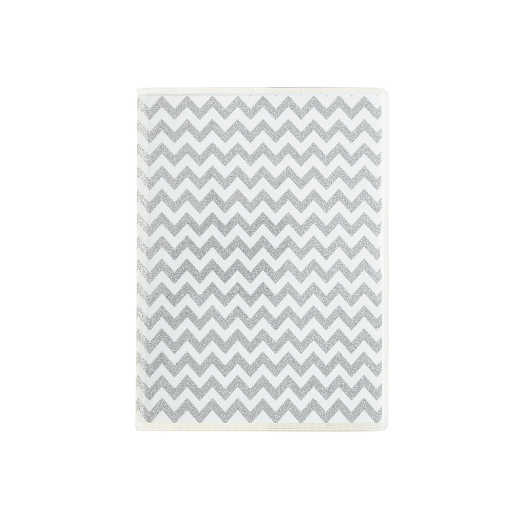 A sparkling, chevron notebook from J.Crew ($13) will make sure each idea shines as bright as can be.