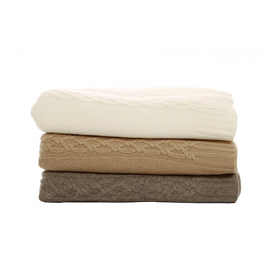 """A cozy cashmere wrap or blanket from Magaschoni ($640) is a great must have. I was in Southern California recently, and in the evenings I always needed a cashmere wrap. Who couldn't use one?"""