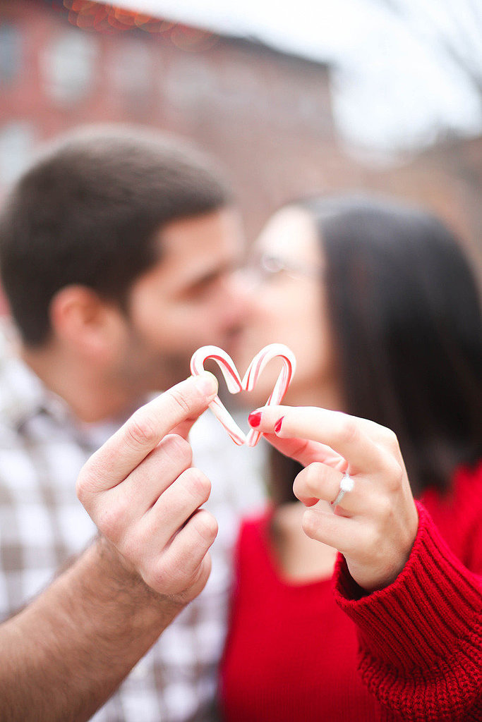 Make a Heart Out of Candy Canes