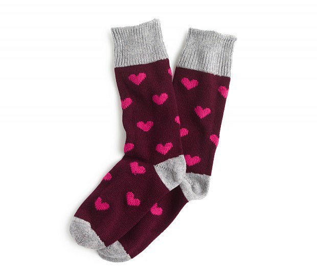 These Corgi for J.Crew cashmere socks ($98) are one of the easiest ways to tell someone you love her.