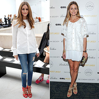 Olivia Palermo Aquazzura Shoes