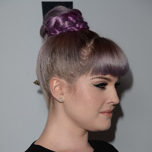 Kelly Osbourne's Braided Bun