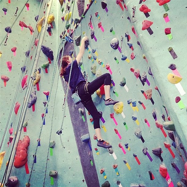 Hanneli Mustaparta was headed for the top. Source: Instagram user hannelim