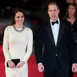 Kate Middleton and Prince William at Mandela Premiere
