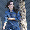Rachel Bilson in Denim Jumpsuit | Video