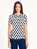 Not one for the glitz? Slip into a great print instead with this Kate Spade Tulip Top ($258).