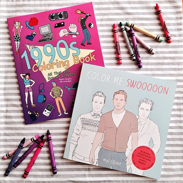 I shared some fun coloring books on the POPSUGARLove Instagram.