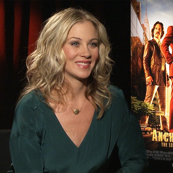 Celebrity Video Interview: Christina Applegate, Anchorman 2