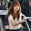 Dakota Johnson Filming Fifty Shades of Grey
