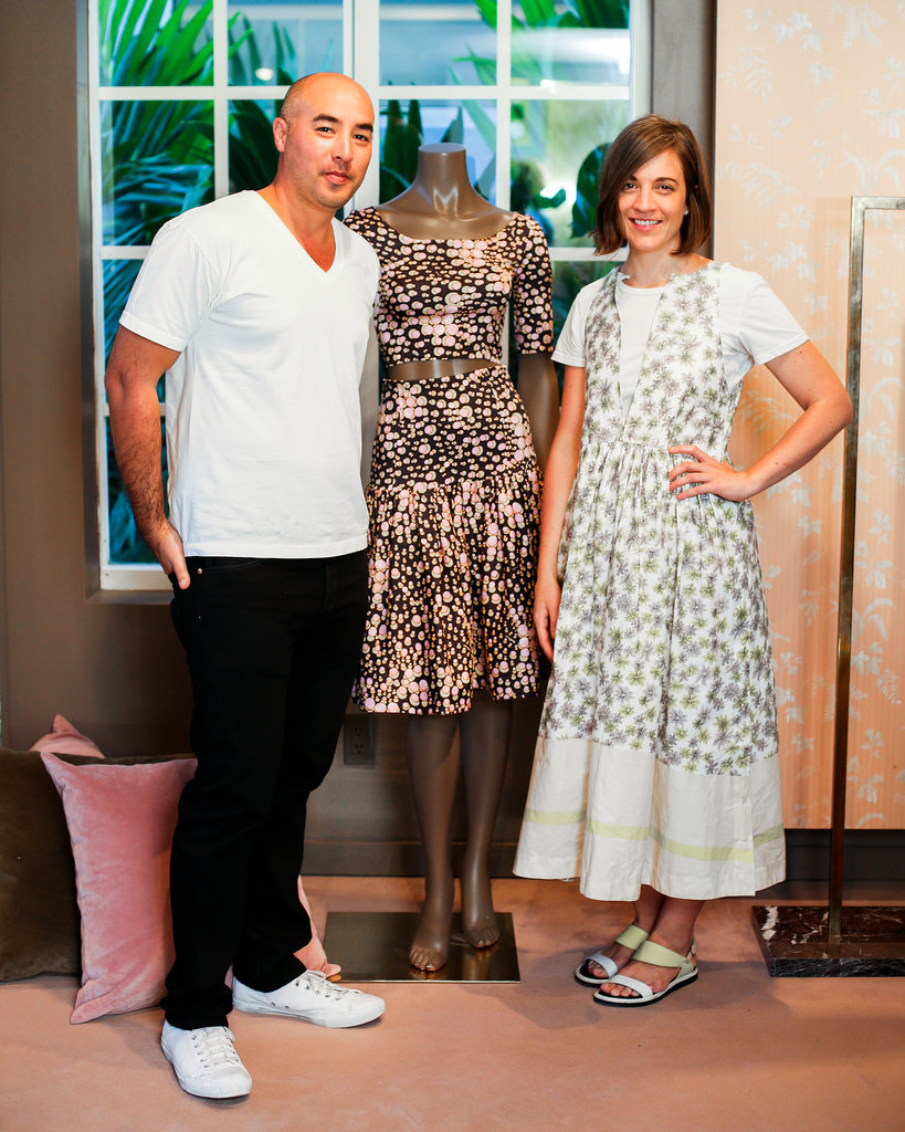 Max Osterweis and Erin Beatty at the Suno for The Webster launch event.
