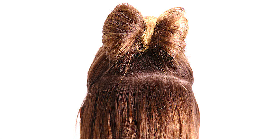 Create a Holiday Hair Bow in 2 Minutes Flat