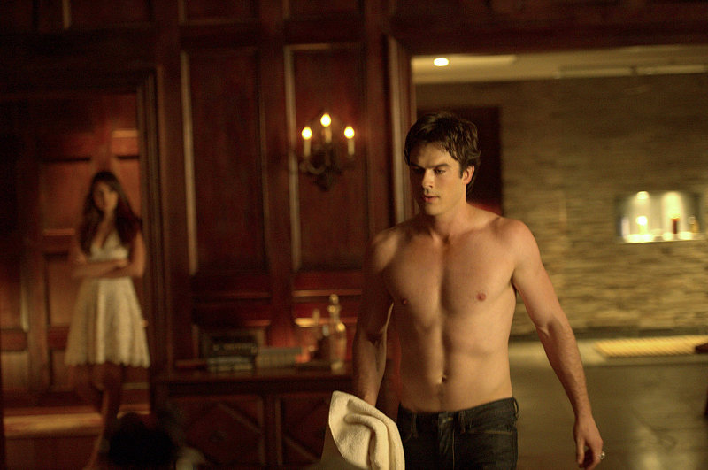 Shirtless Smolder
