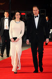 Kate Middleton and Prince William got all dressed up for the London premiere of Mandela: Long Walk to Freedom in December 2013. It was at the event that they learned of the former South African president's death.