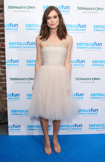 Who could forget the moment they realized Keira Knightley had worn a vintage Chanel dress from her closet to her May wedding? Well, she wore it again, this time adding sleeves to the style while repurposing it for the SeriousFun London Gala.
