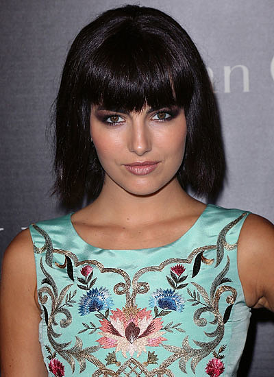 Camilla Belle: Cut Bangs