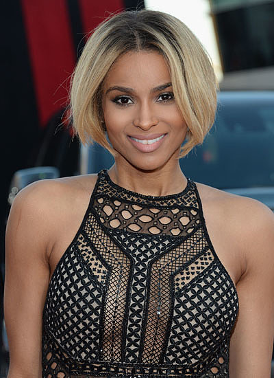 Ciara Lob To Bob Best Of 2013 Beauty Changes Bracket
