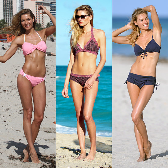 Life's a Beach For Jessica Hart in Miami