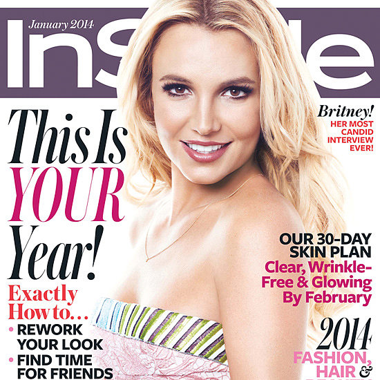 Oops . . . She Did It Again! Britney Spears Covers InStyle