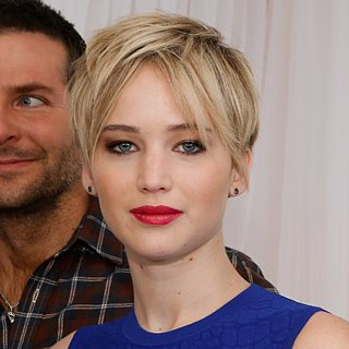 Jennifer Lawrence's Hair at American Hustle Photocall