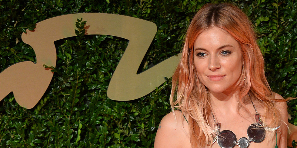 Get Sienna Miller's Rose-Gold Hair For NYE, No Commitment