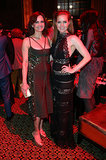 Amy Adams and Carla Gugino met up at the afterparty.
