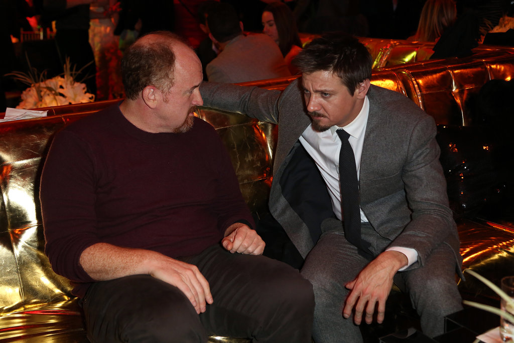 Jeremy Renner chatted with Louis C.K.