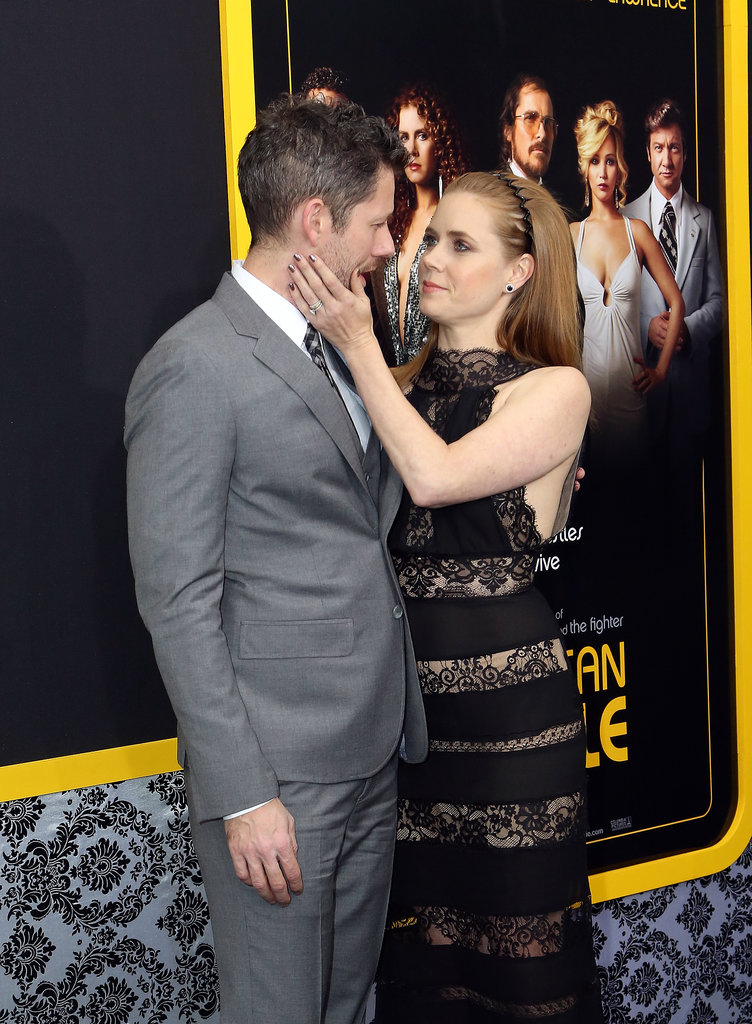 Amy Adams couldn't keep her hands off of Darren Le Gallo.