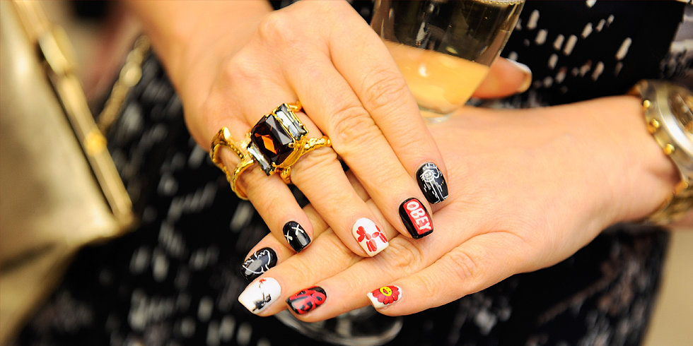How Nail Art Stole the Show at Art Basel