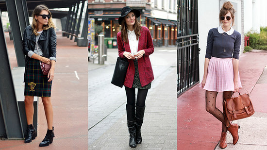 How to Wear Skirts With Boots!