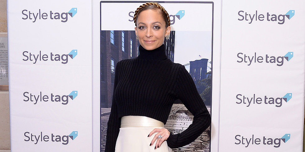 Winterize Your Maxi Skirt Like Nicole Richie
