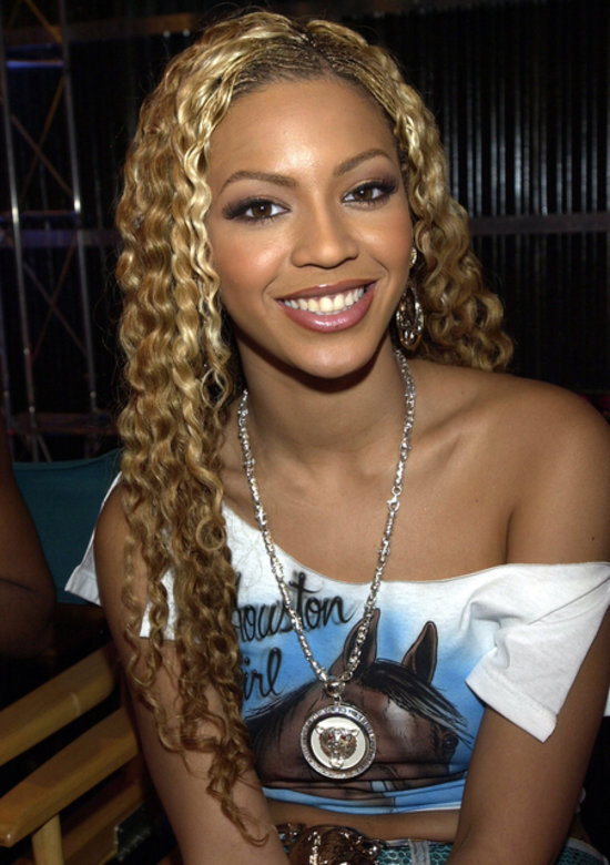Beyoncé was a huge fan of crimped styles in the early '00s, and the ...
