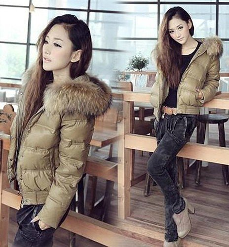 Discount women coats winter fashion style warm down jackets with fur hooded in women down parkas on sightface.com