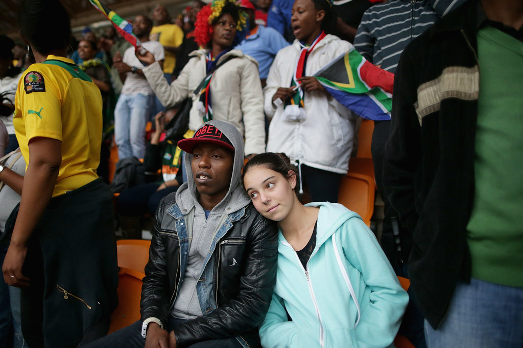 South Africans came together for the four-hour official memorial.