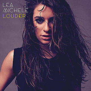 Lea Michele's Hair on Louder Album Cover
