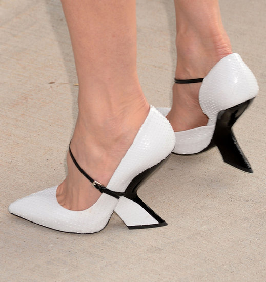 Supporting husband Keith Urban, Nicole Kidman picked sculptural black-and-white heels at this Summer's CMT Music Awards.