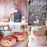 Birthday Parties: A Pretty-in-Pastel Carousel Party